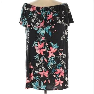 West Loop off the shoulder floral  dress